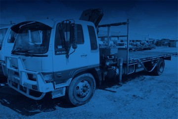 Unreserved Hino Crane Truck & More (Pickup Only QLD)