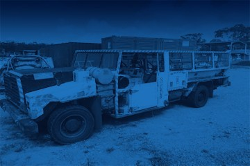 Unreserved Underground Mining Equipment Sale - NSW Pickup